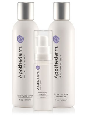 Apothederm Acne Clarifying System