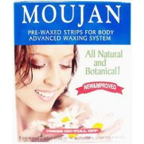 MOUJAN 2000 Pre-Waxed Strips For Body